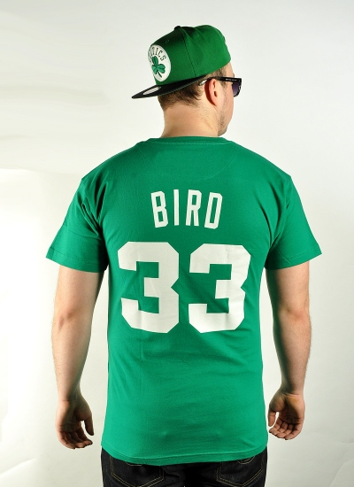 Mitchell & Ness  Player Tee Larry Bird