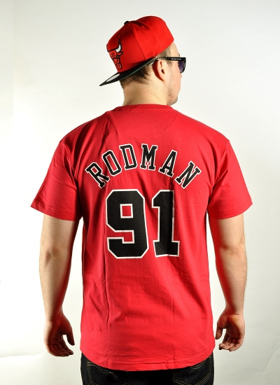Mitchell & Ness  Player Tee Dennis Rodman