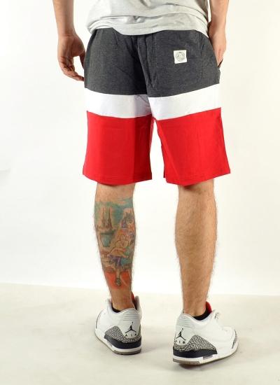 Mass Denim  Respect Shorts Sweat Red