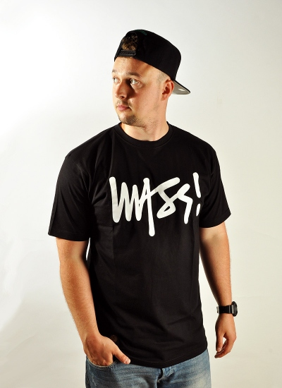 Mass Denim  Signature Tee Blk