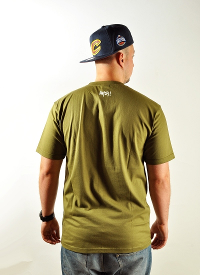 Mass Denim  Signature Tee Olv