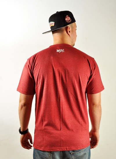 Mass Denim  Signature Tee Red