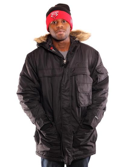 Southpole  Basic Parka Jacket Blk