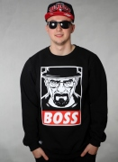 Bossline  Boss Walter Sweat Blk