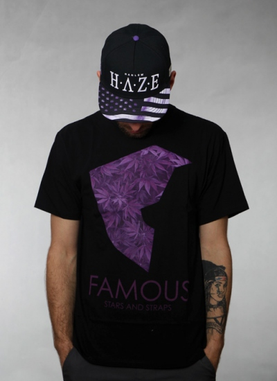 Famous Stars And Straps  Medicinal Premium Tee Blk