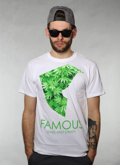 Famous Stars And Straps  Medicinal Premium Tee Wht