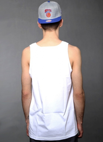Famous Stars And Straps  Breezin Tank Wht