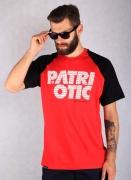 Patriotic  CLS Fonts Tee Red