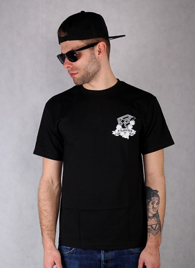 Famous Stars And Straps  Ride Rim Tee Blk