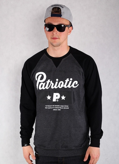 Patriotic  Base Slim LS Chr