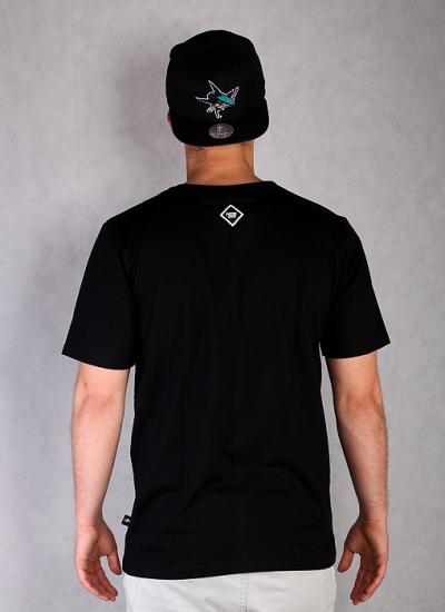 Patriotic  Skull New Tee Blk