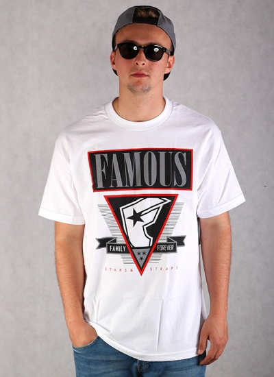 Famous Stars And Straps  Low End Tee Wht