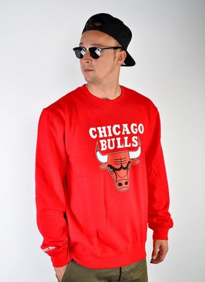Mitchell & Ness  Team Logo Crew Bulls Red