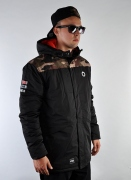 Mass Denim  Conversion Parka Blk