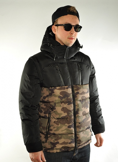 Southpole  Expedition Jacket Blk