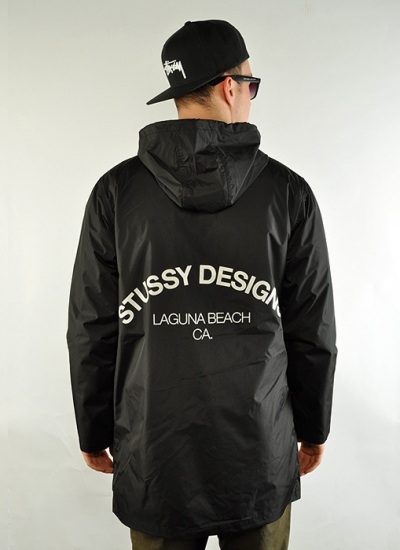Stussy  Long Coach Jacket