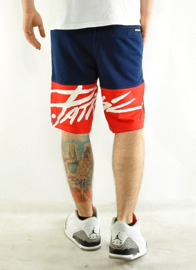 Patriotic  Tag Shorts Nvy