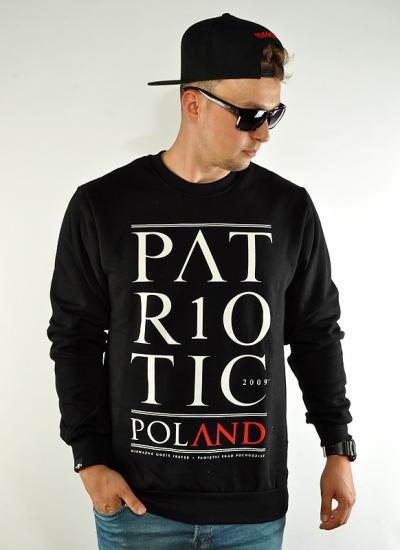 Patriotic  Poland Crew Blk