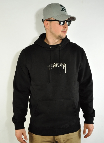 Stussy  Smooth Stock Hoody Blk