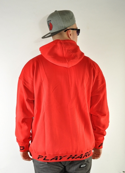 K1X  Play Hard Hoody Red