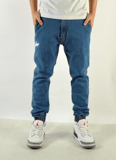 Moro Sport  Slant Jogger Jeans Lt