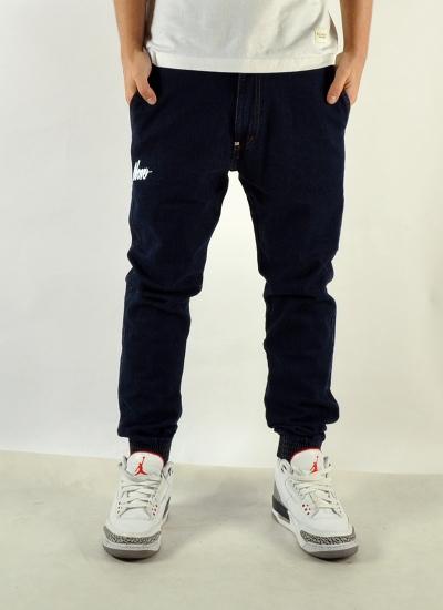 Moro Sport  Slant Jogger Jeans Drk