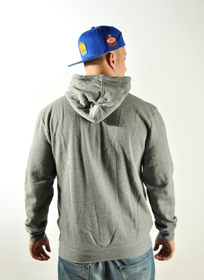 Mitchell & Ness  Arch Hoody Warriors Gre