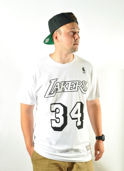 Mitchell & Ness  Player BW Tee Shaquille O'Neal