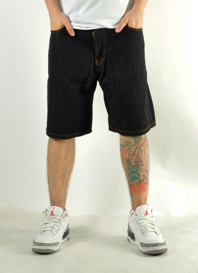 Patriotic  Moro Pocket Shorts Blk