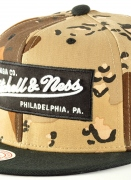 Mitchell & Ness  Box Logo Snapback Dessert