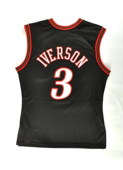 Mitchell & Ness  Swingman Jersey Iverson 76ers Blk