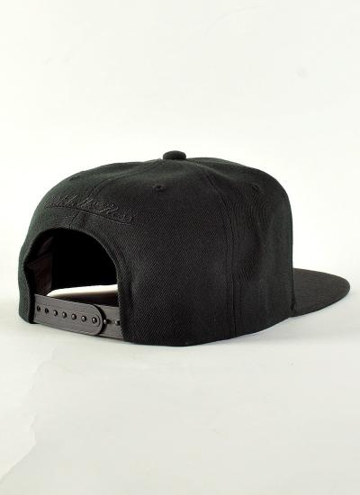 Mitchell & Ness  Box Logo Snapback Blk