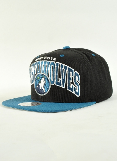 Mitchell & Ness  Arch Snapback Wolves