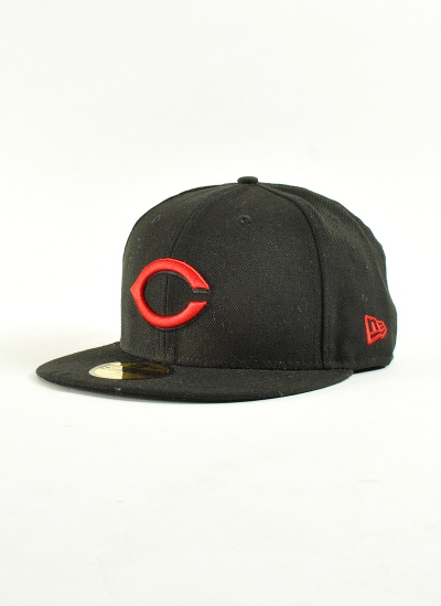 New Era  Basic Cincinnati Blk Red