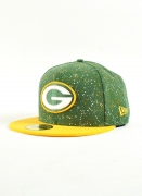 New Era  Speckle Packers Grn