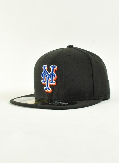 New Era  Authentic NY Mets Blk