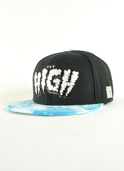 Cayler & Sons  Sky High Snapback Blk
