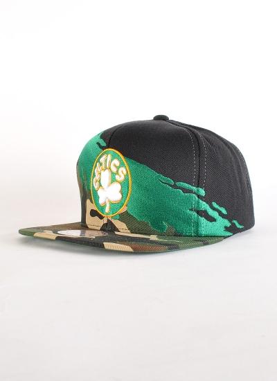 Mitchell & Ness  Moro Paint Snapback Celtics