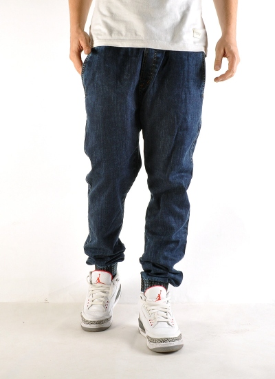 Moro Sport  Gym B Jogger Jeans Mar