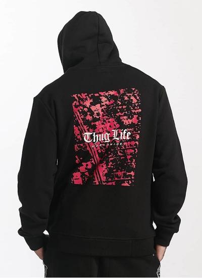 Thug Life  Street Hoody Blk