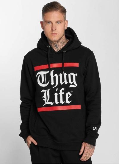 Thug Life  B. Gothic Hoody Blk