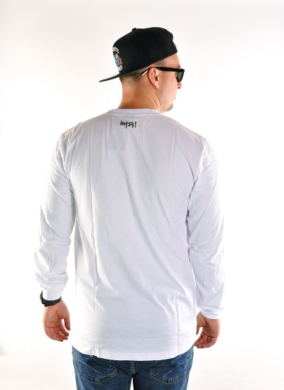 Mass Denim  Signature LS Wht