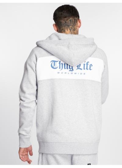 Thug Life  Freeze Zip Hoody Gre