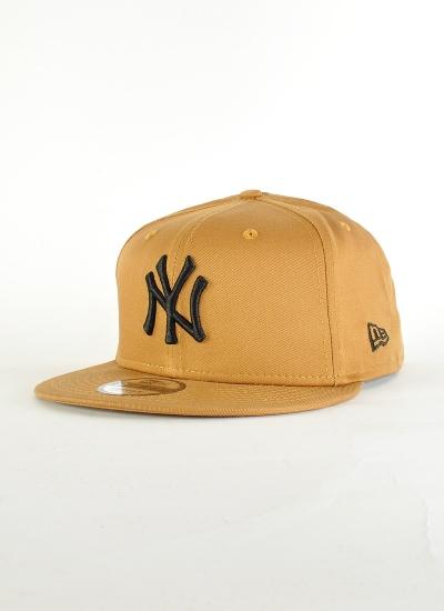 New Era  NY Snapback Brw Blk
