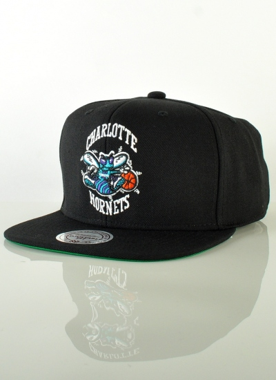 Mitchell & Ness  Solid Snapback Hornets