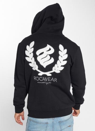 Rocawear  Logo Zip Hoody Blk