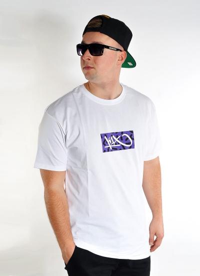 K1X  BOX LOGO Tee Wht