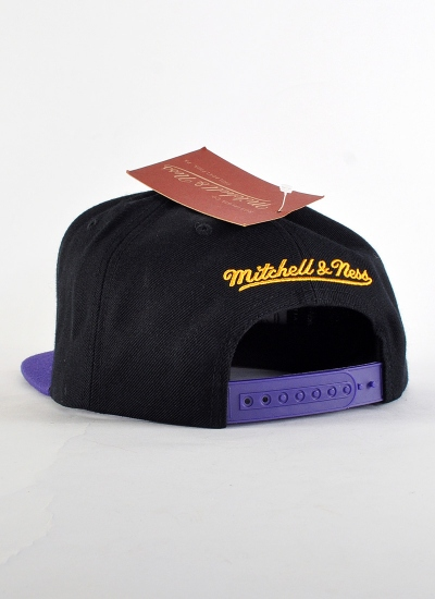 Mitchell & Ness  Bonus Snapback Lakers