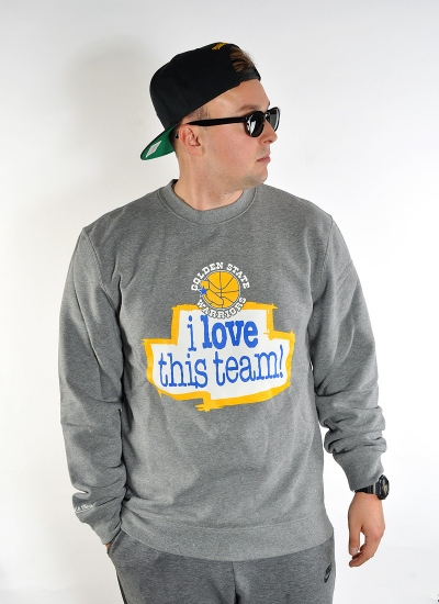 Mitchell & Ness  Love Crew Warriors