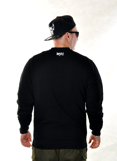 Mass Denim  Signature Crew Blk
